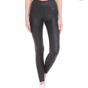 NEW Ultra Soft High Waist Faux Leather Leggings